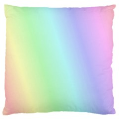Multi Color Pastel Background Standard Flano Cushion Case (two Sides)