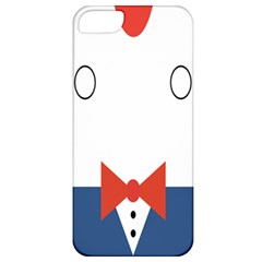 Peppermint Butler Wallpaper Face Apple iPhone 5 Classic Hardshell Case
