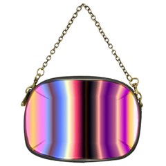 Multi Color Vertical Background Chain Purses (Two Sides)