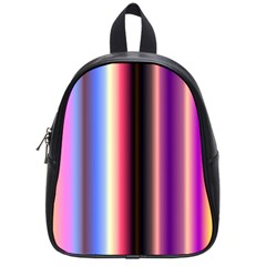 Multi Color Vertical Background School Bags (Small)