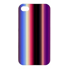Multi Color Vertical Background Apple Iphone 4/4s Hardshell Case