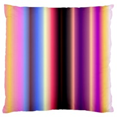 Multi Color Vertical Background Large Cushion Case (Two Sides)