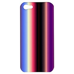 Multi Color Vertical Background Apple iPhone 5 Hardshell Case