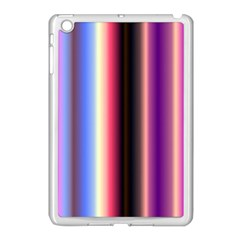 Multi Color Vertical Background Apple iPad Mini Case (White)