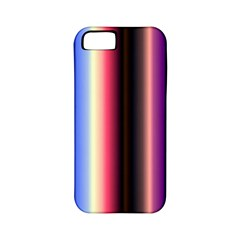 Multi Color Vertical Background Apple iPhone 5 Classic Hardshell Case (PC+Silicone)