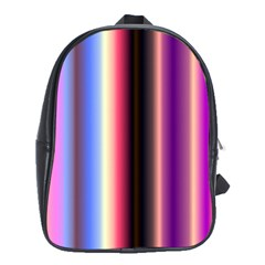 Multi Color Vertical Background School Bags (XL)