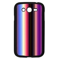 Multi Color Vertical Background Samsung Galaxy Grand DUOS I9082 Case (Black)