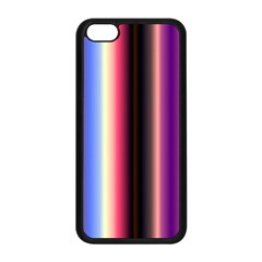 Multi Color Vertical Background Apple Iphone 5c Seamless Case (black)