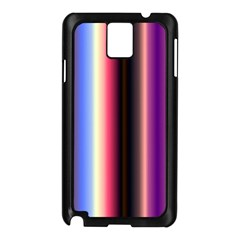 Multi Color Vertical Background Samsung Galaxy Note 3 N9005 Case (Black)