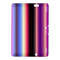 Multi Color Vertical Background Kindle Fire HDX 8.9  Hardshell Case