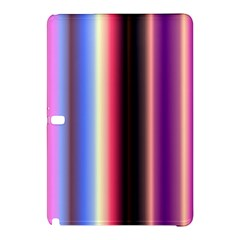 Multi Color Vertical Background Samsung Galaxy Tab Pro 10.1 Hardshell Case
