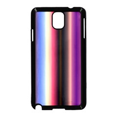 Multi Color Vertical Background Samsung Galaxy Note 3 Neo Hardshell Case (Black)