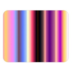 Multi Color Vertical Background Double Sided Flano Blanket (Large)