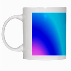 Multi Color Stones Wall Multi Radiant White Mugs