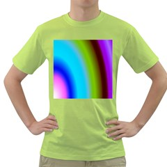 Multi Color Stones Wall Multi Radiant Green T-Shirt