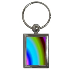 Multi Color Stones Wall Multi Radiant Key Chains (rectangle)