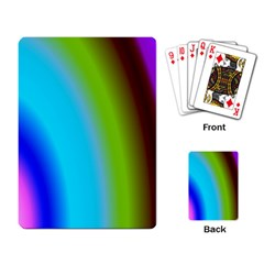 Multi Color Stones Wall Multi Radiant Playing Card