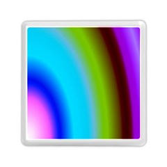 Multi Color Stones Wall Multi Radiant Memory Card Reader (square)