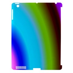 Multi Color Stones Wall Multi Radiant Apple iPad 3/4 Hardshell Case (Compatible with Smart Cover)