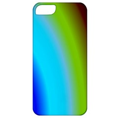 Multi Color Stones Wall Multi Radiant Apple iPhone 5 Classic Hardshell Case