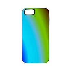 Multi Color Stones Wall Multi Radiant Apple iPhone 5 Classic Hardshell Case (PC+Silicone)