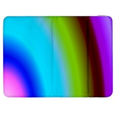 Multi Color Stones Wall Multi Radiant Samsung Galaxy Tab 7  P1000 Flip Case