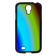 Multi Color Stones Wall Multi Radiant Samsung Galaxy S4 I9500/ I9505 Case (Black)