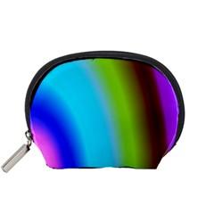 Multi Color Stones Wall Multi Radiant Accessory Pouches (Small)
