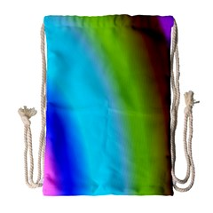 Multi Color Stones Wall Multi Radiant Drawstring Bag (large)
