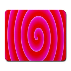 Pink Hypnotic Background Large Mousepads