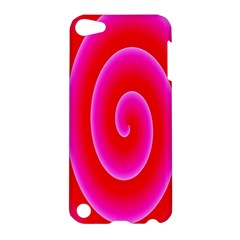 Pink Hypnotic Background Apple iPod Touch 5 Hardshell Case