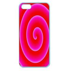 Pink Hypnotic Background Apple Seamless iPhone 5 Case (Color)