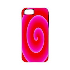 Pink Hypnotic Background Apple iPhone 5 Classic Hardshell Case (PC+Silicone)