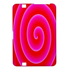 Pink Hypnotic Background Kindle Fire Hd 8 9