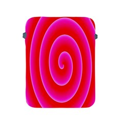 Pink Hypnotic Background Apple iPad 2/3/4 Protective Soft Cases
