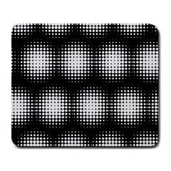 Black And White Modern Wallpaper Large Mousepads