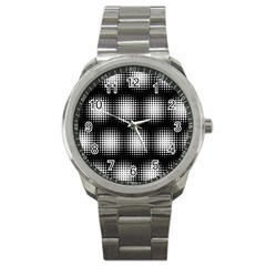Black And White Modern Wallpaper Sport Metal Watch