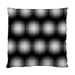 Black And White Modern Wallpaper Standard Cushion Case (two Sides)