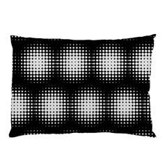 Black And White Modern Wallpaper Pillow Case (two Sides)