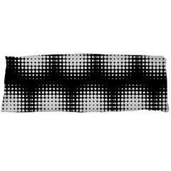 Black And White Modern Wallpaper Body Pillow Case (Dakimakura)