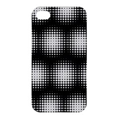 Black And White Modern Wallpaper Apple iPhone 4/4S Premium Hardshell Case