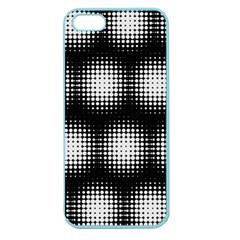 Black And White Modern Wallpaper Apple Seamless iPhone 5 Case (Color)