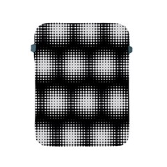 Black And White Modern Wallpaper Apple iPad 2/3/4 Protective Soft Cases