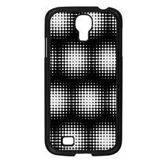 Black And White Modern Wallpaper Samsung Galaxy S4 I9500/ I9505 Case (Black)