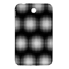 Black And White Modern Wallpaper Samsung Galaxy Tab 3 (7 ) P3200 Hardshell Case