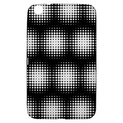 Black And White Modern Wallpaper Samsung Galaxy Tab 3 (8 ) T3100 Hardshell Case