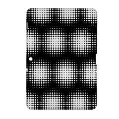 Black And White Modern Wallpaper Samsung Galaxy Tab 2 (10.1 ) P5100 Hardshell Case