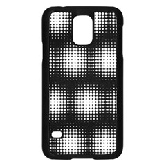 Black And White Modern Wallpaper Samsung Galaxy S5 Case (Black)