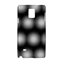 Black And White Modern Wallpaper Samsung Galaxy Note 4 Hardshell Case