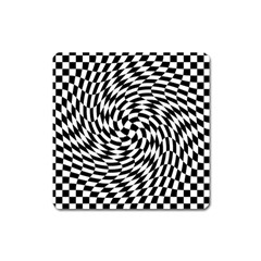 Whirl Square Magnet